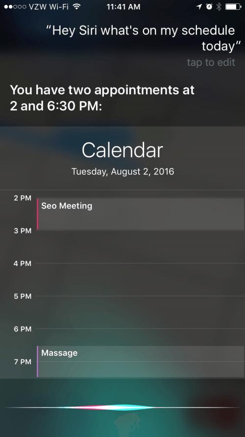 Siri Lock Screen Settings