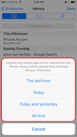 Tip of the Day: How to Selectively Clear Your Browsing History in Safari