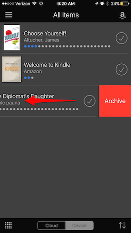 How to Delete Kindle Books from Your iPhone or iPad