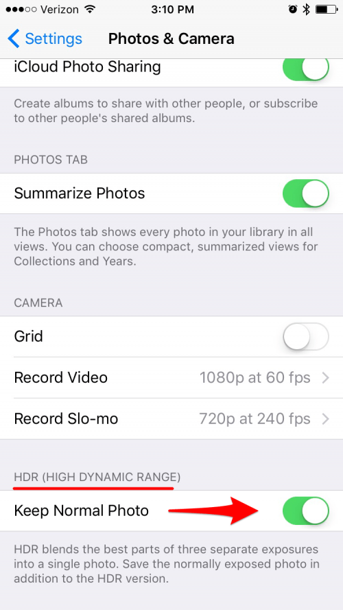 How to Use HDR on iPhone