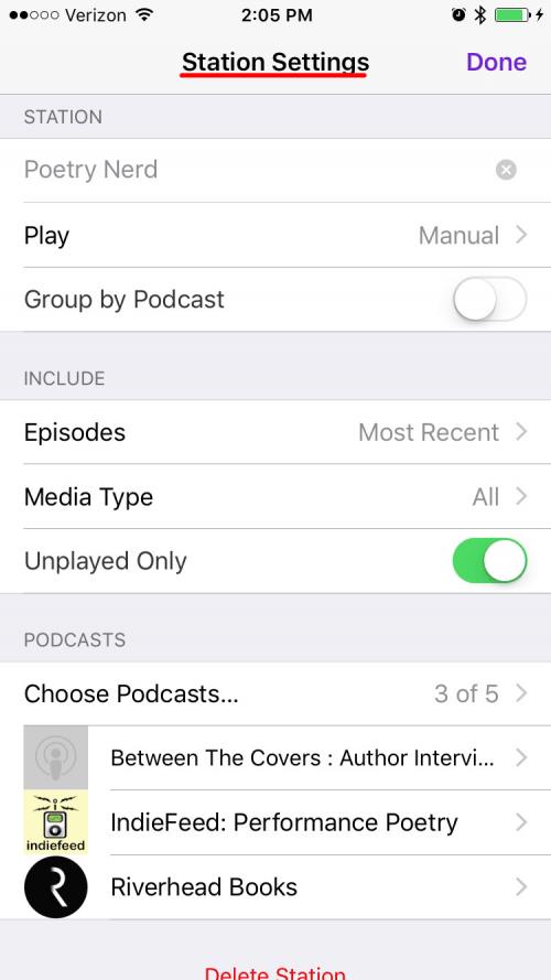 How to Create a Playlist of Your Favorite Podcasts