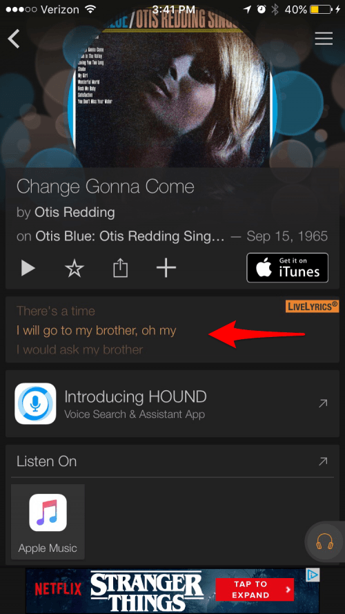 How to See Lyrics on iPhone While Listening to Music | iPhoneLife.com