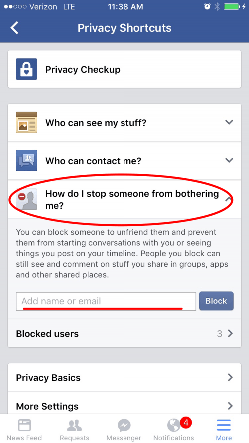How To Block People On Facebook Who Arent Your Friends Iphonelifecom