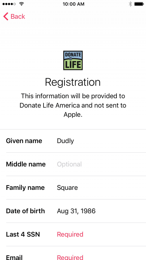How to Register as an Organ Donor in the Health App