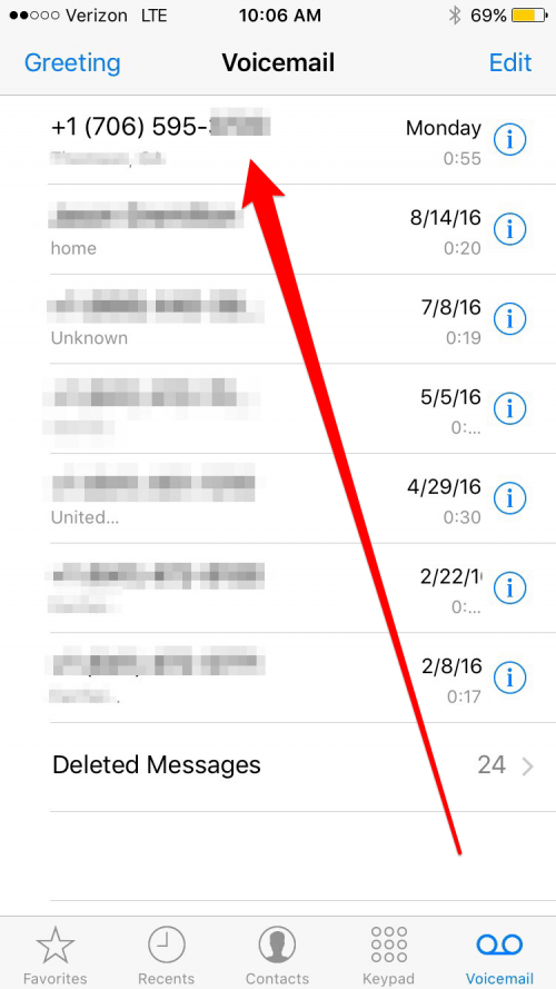 How to Use Voicemail Transcription with iOS 10 on iPhone ...