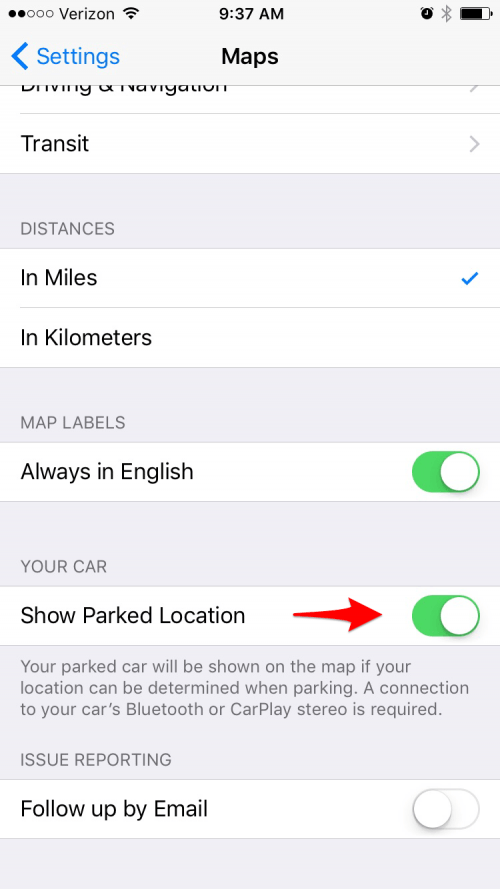 how to change home address on iphone maps ios 10