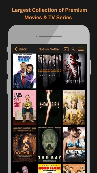 free hd movie apps for ios