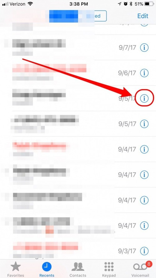 block a number on iphone how to block a contact on iphone iphonelife 16723
