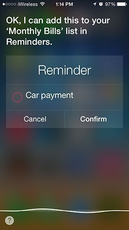 Use Siri to Add Reminders to Specific Lists