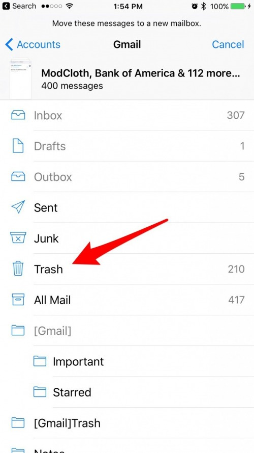 how to delete email on iphone how to delete all emails at once on your iphone or 4393
