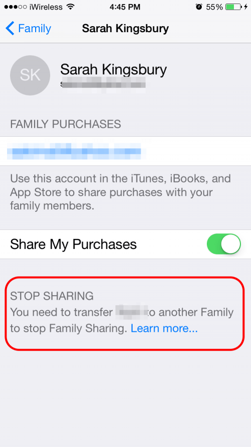 How to Leave iTunes Family Sharing | iPhoneLife com