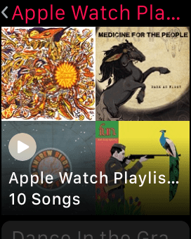 How to Listen to Your Playlist on Apple Watch