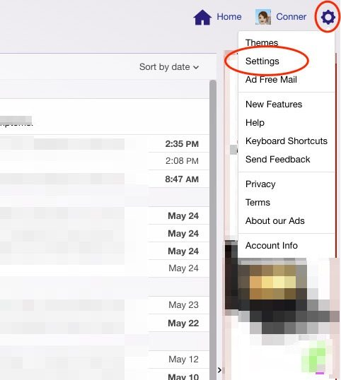 How to Setup Out of Office Response Email for Yahoo
