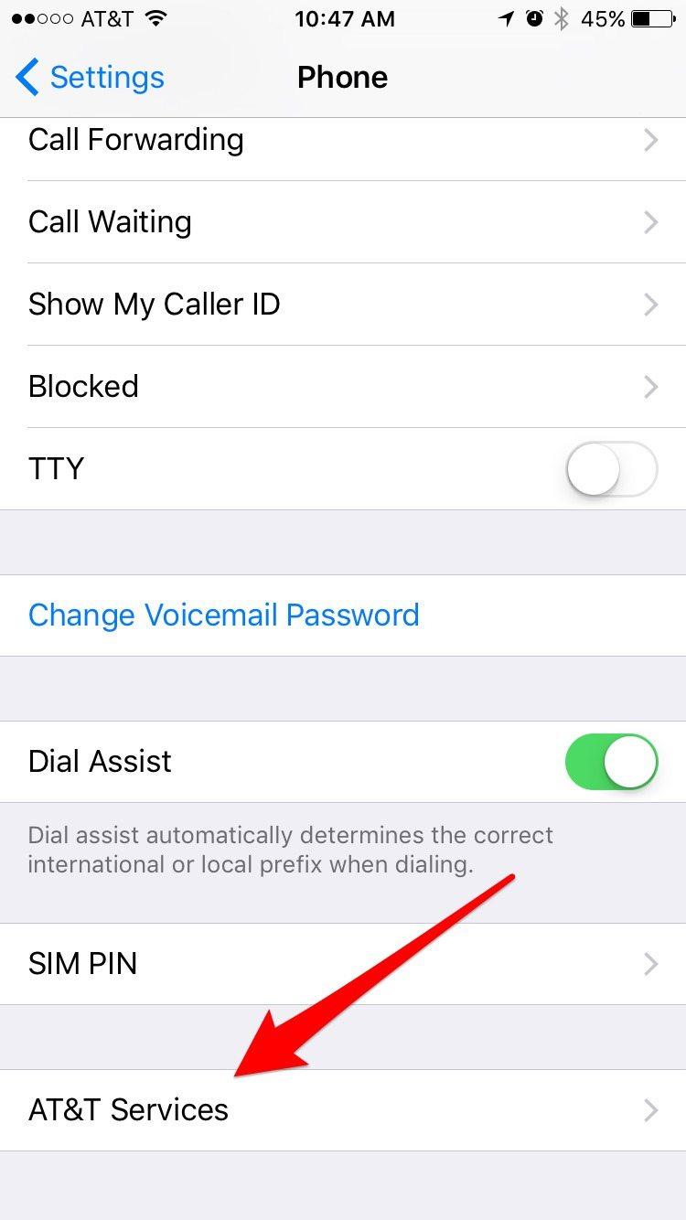 Check AT&T account balance | iPhoneLife.com
