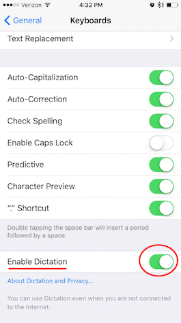 How to Dictate Text on Your iPhone