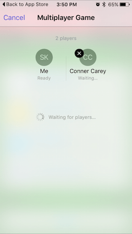 How to Invite Friends to a Multiplayer Game in Game Center
