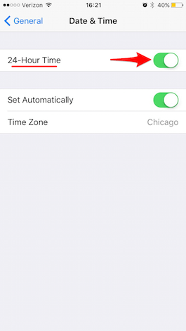 How to Switch to a 24-Hour Clock on Your iPhone | iPhoneLife.com