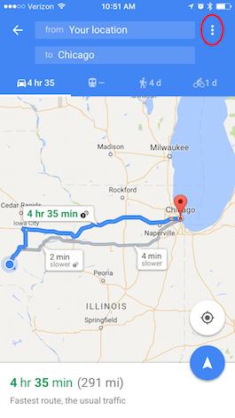 Google maps us interstate highways