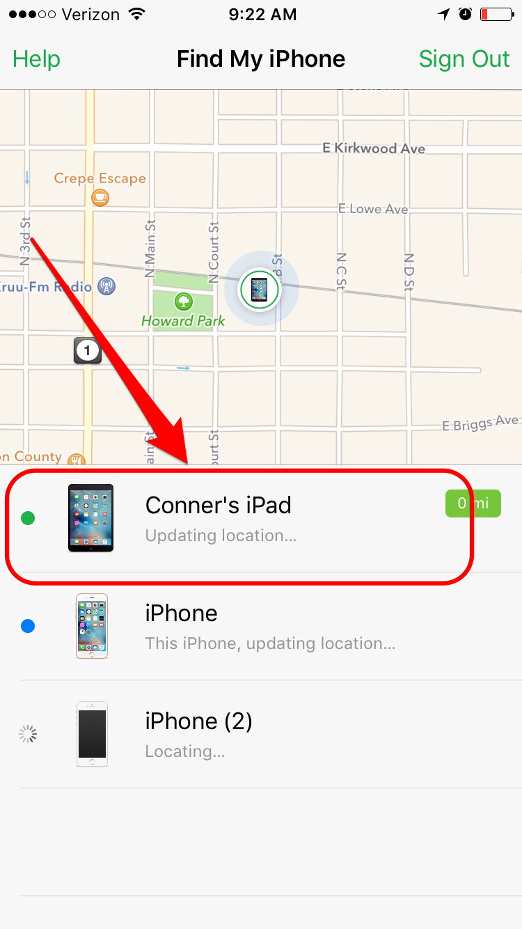 How to Use Find My iPhone to Ping Your Misplaced iPad   iPhoneLife.com