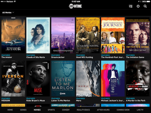 HBO, Showtime & Amazon Prime Options for iPhone, iPad