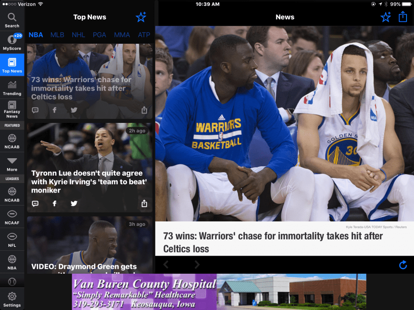 Top 5 Free Apps for Following the NBA Playoffs | iPhoneLife com