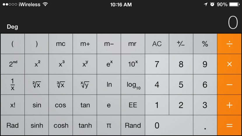 However If You Are Using Your Iphone S Scientific Calculator As Main Instead Of A Back Up May Want To Look At The Functionality