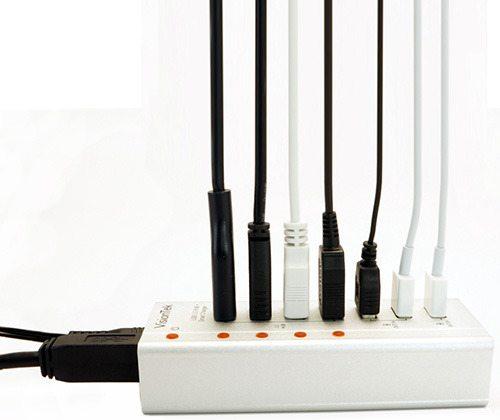 VisionTek Charge & Sync USB 3.0 Seven Port Hub