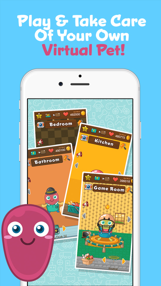 Bathroom Sign Out App review: suti, the adorable virtual pet | iphonelife