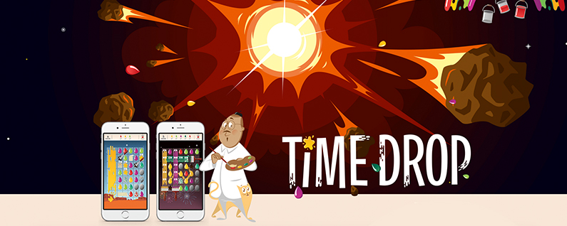 Time Drop Is an Addictive iOS Puzzle Game