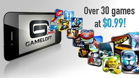Gameloft Sales