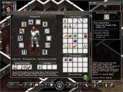 Avadon Screen 2