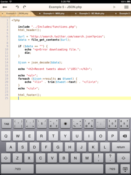 Kodiak PHP IDE