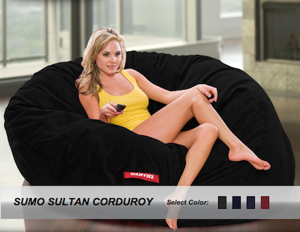 Excellent Sumo Sultan Corduroy Bean Bag Chair Iphonelife Com Bralicious Painted Fabric Chair Ideas Braliciousco