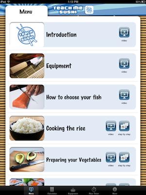 Teach Me Sushi iPad Edition