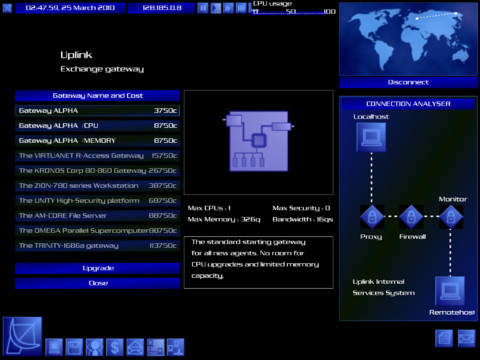 Uplink Screenshot