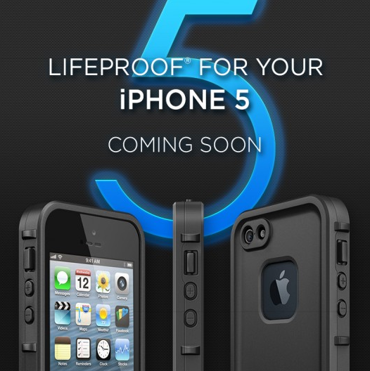 Lifeproof for iPhone 5: Coming soon