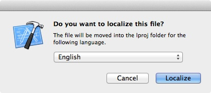 Do you want to localize
