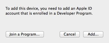 Add Apple ID