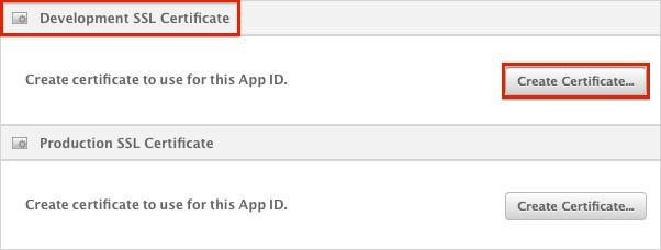 Create Certificate