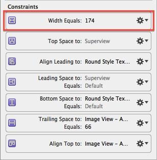 New width constraint