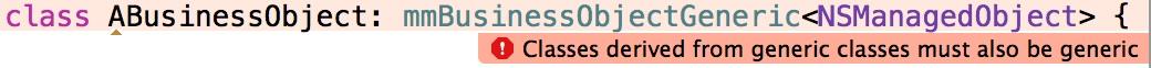 Subclasses of generic classes