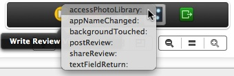 Select the accessPhotoLibrary method