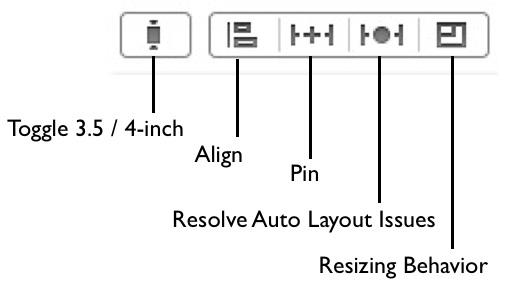 Auto Layout menu