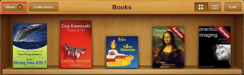 iBook Shelf Update