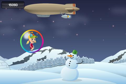 Cassie Finds A Snowman