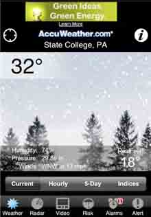 New Free App From AccuWeather IPhoneLifecom - Free accuweather