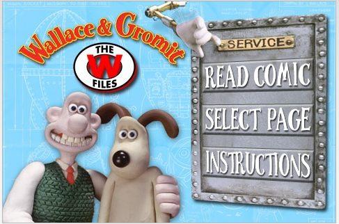 Wallace & Gromit — free digital comic | iPhoneLife com