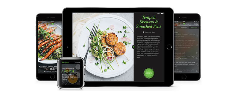 Best vegan recipe apps iphonelife one of the best things about recipe apps is being able to find yummy ideas that reflect your nutritional and ethical choices particularly for those with forumfinder Choice Image