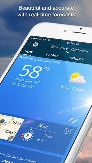 Top 5 Free Weather Apps for iPhone   iPhoneLife com
